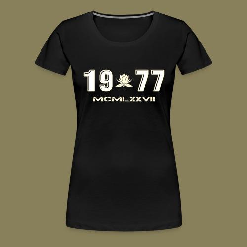 1977-Fronte - Maglietta Premium da donna