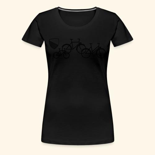 Velostadt Zürich Familie - Frauen Premium T-Shirt