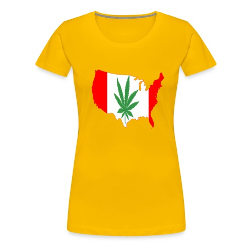 canada legalized - T-shirt Premium Femme