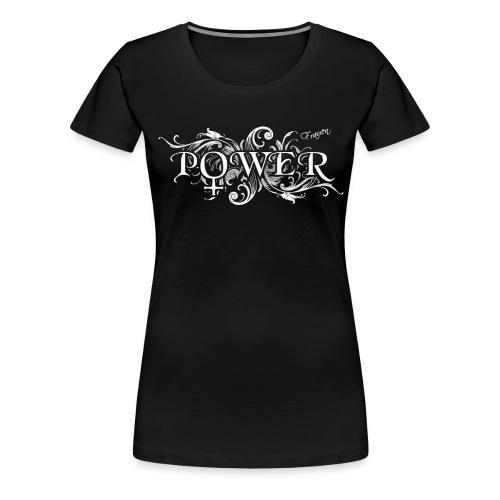 Frauenpower mit Symbol - Frauen Premium T-Shirt