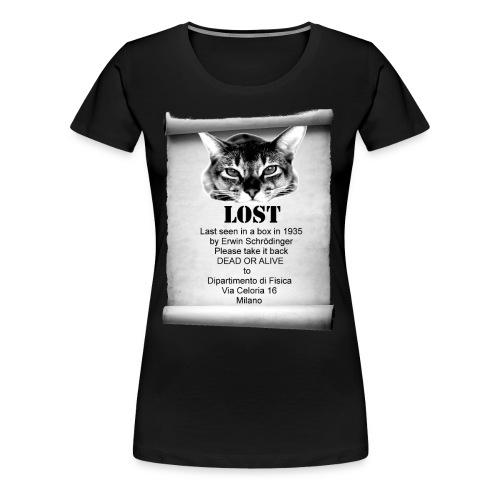 Schrodinger's cat - Maglietta Premium da donna