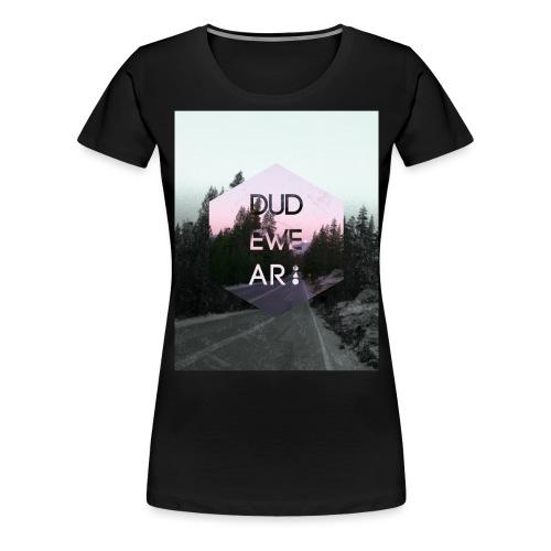 ROAD TO DUDEWEAR - Frauen Premium T-Shirt