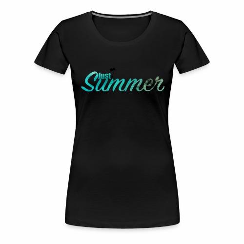 Summer - Frauen Premium T-Shirt
