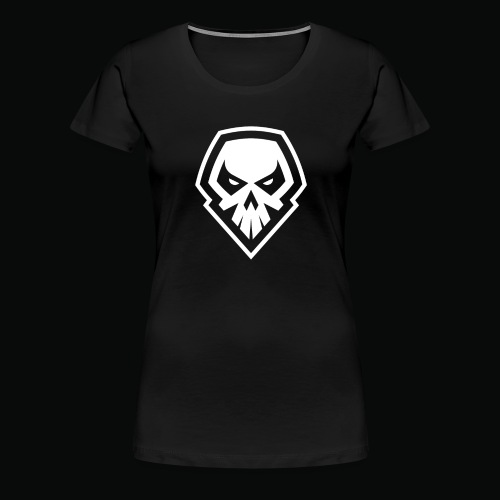 tank logo black - Women's Premium T-Shirt