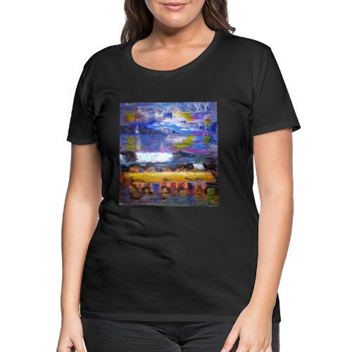 Im Rausch der Wasserwelten - Künstler Jan Korski - Frauen Premium T-Shirt