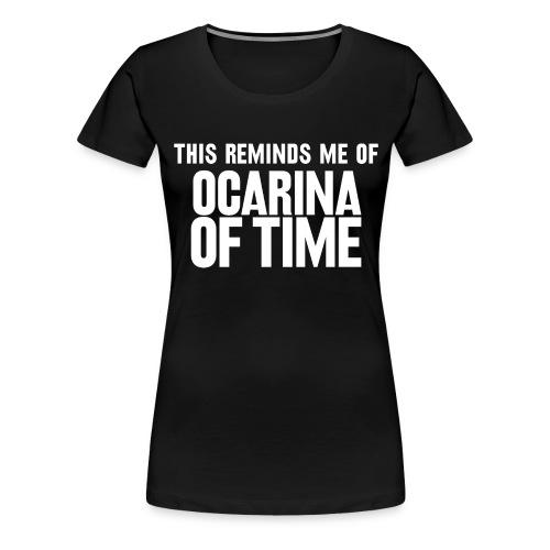 ocarina - Women's Premium T-Shirt