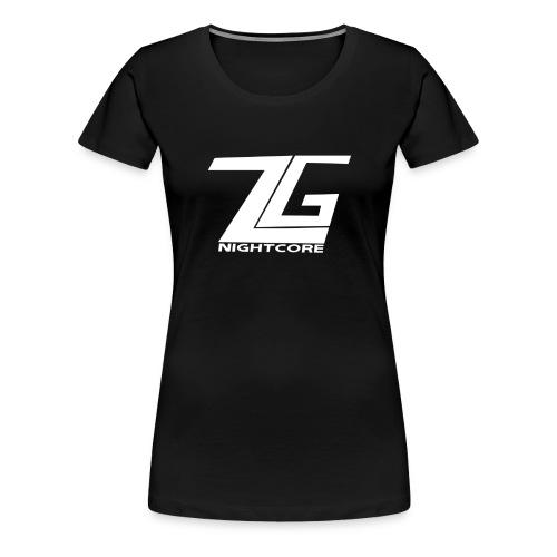 ZGNightcoreLogo2 1 png - Women's Premium T-Shirt