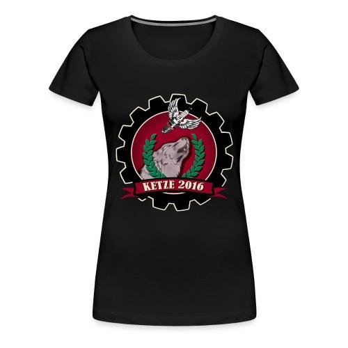 Ketze 2016 Tshirt weiß Ko - Frauen Premium T-Shirt