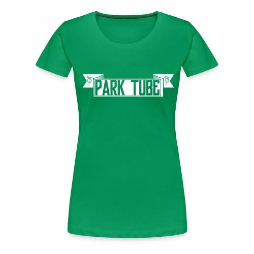 ParkTube Banner weiss - Frauen Premium T-Shirt