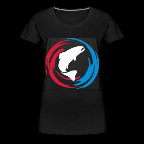 Logo Fisk - Premium-T-shirt dam