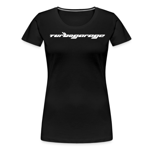 Turbogarage White - Frauen Premium T-Shirt