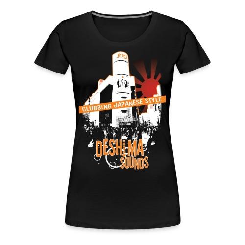 Deshima Sounds 01 2008 - Vrouwen Premium T-shirt