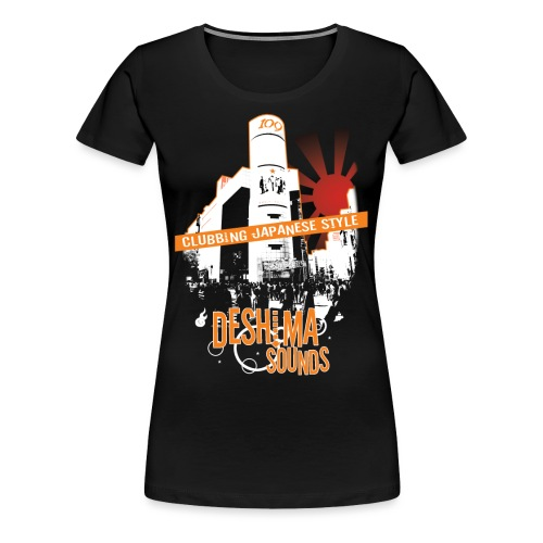 Deshima Sounds 01 2008 - Women's Premium T-Shirt