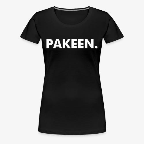 PAKEEN. Zwart - Vrouwen Premium T-shirt
