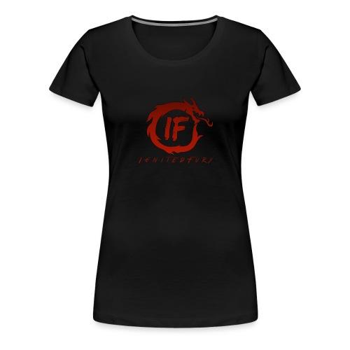 IgnitedFuryShirt 2 - Frauen Premium T-Shirt