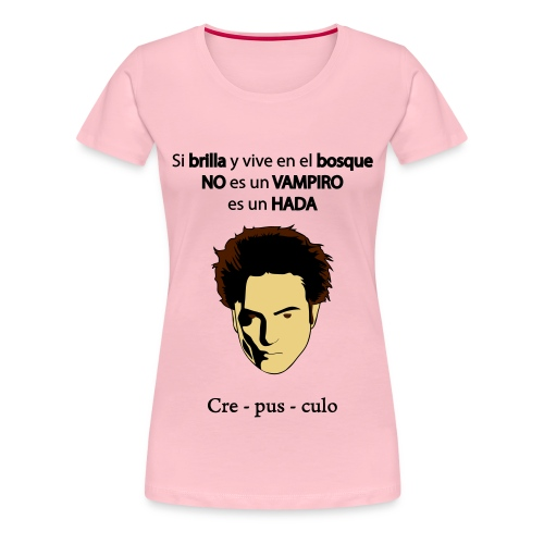 crepusculo hada - Camiseta premium mujer