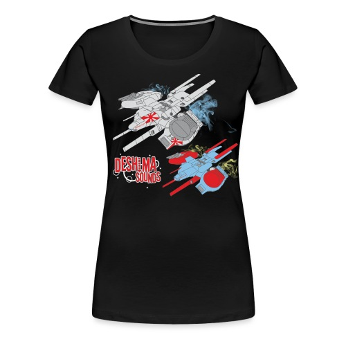Deshima Sounds 06 2011 - Women's Premium T-Shirt