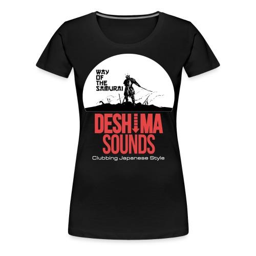 Deshima Sounds 13 2014 - Vrouwen Premium T-shirt