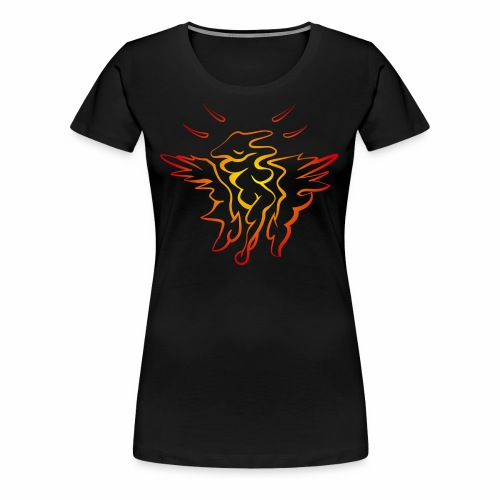 Femix Rot-Gelb - Frauen Premium T-Shirt