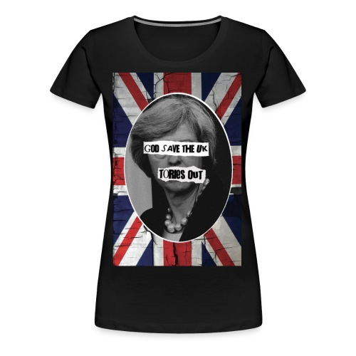 TORIES Out - Women's Premium T-Shirt