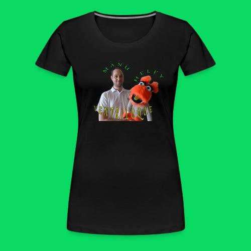 casquette manu et helfy - T-shirt Premium Femme