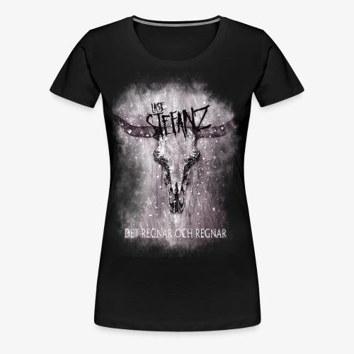 Lasse in Flamez - Premium-T-shirt dam
