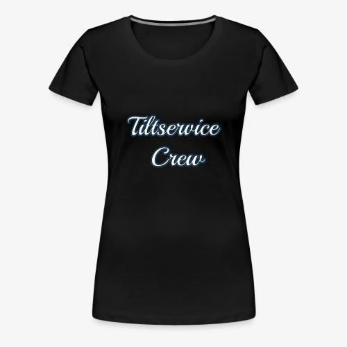 Tiltservice Crew - Premium-T-shirt dam