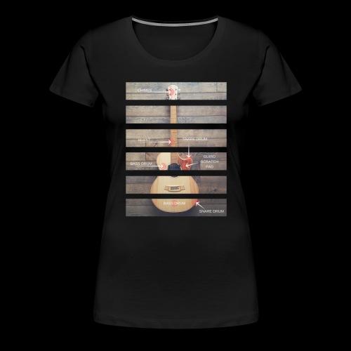 Anatomy Tshirt 3 png - Women's Premium T-Shirt