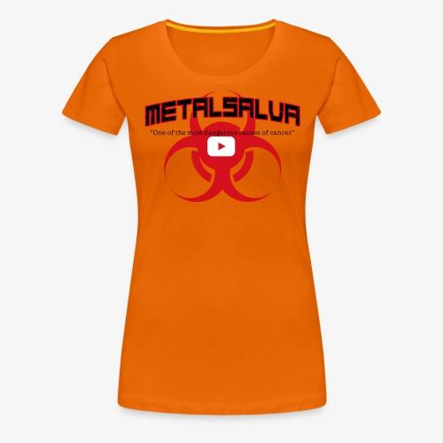 METALSALVA Cancer #1 - Maglietta Premium da donna