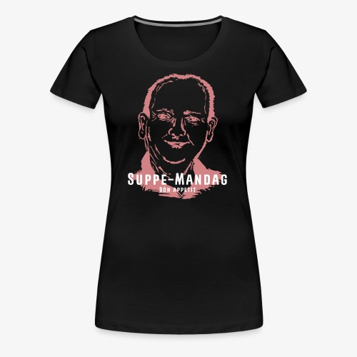 SUPPPE MANDAG - Dame premium T-shirt
