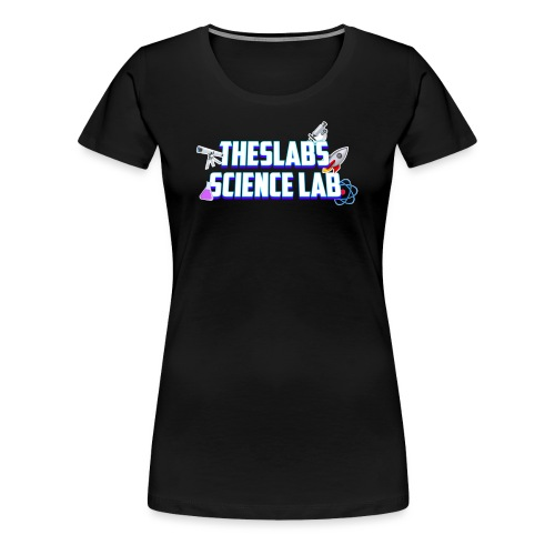 TheSlabs Science Lab Logo - Maglietta Premium da donna