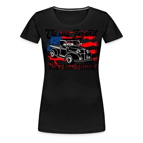 Classic Legend - Frauen Premium T-Shirt