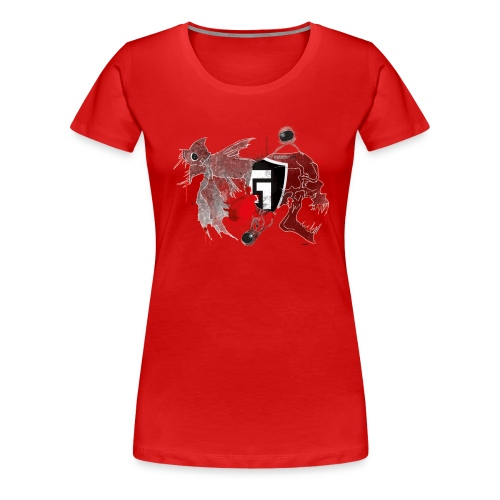 shirt2black - Women's Premium T-Shirt