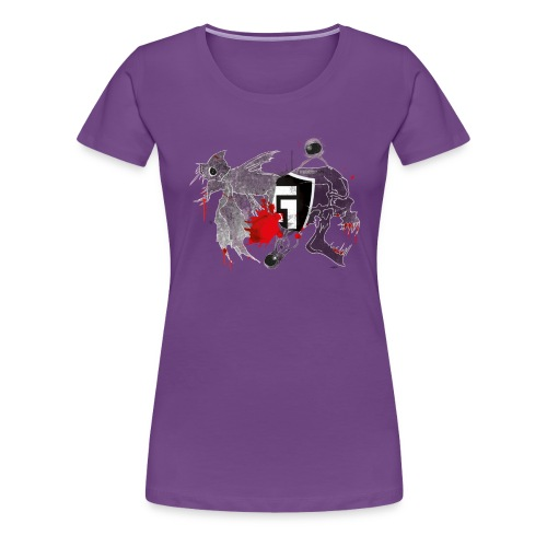 shirt2black - Women's Premium T-Shirt