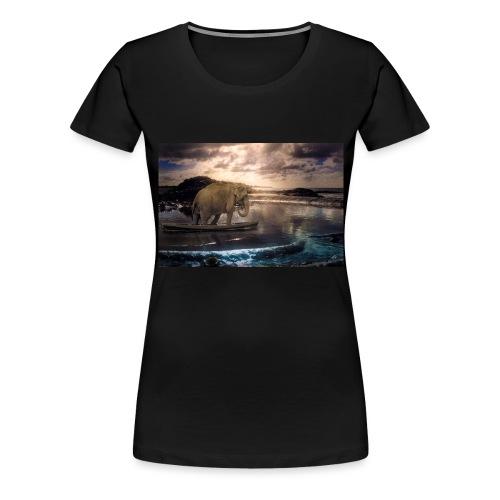 Set adrift on memory blis - Women's Premium T-Shirt