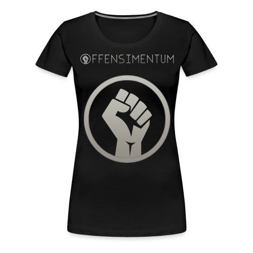 logo png - Dame premium T-shirt