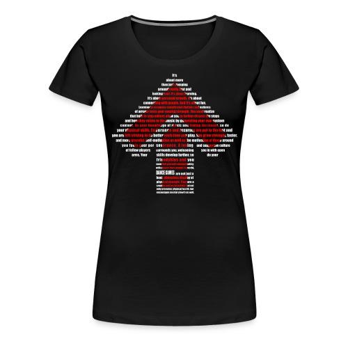 dance games - Frauen Premium T-Shirt