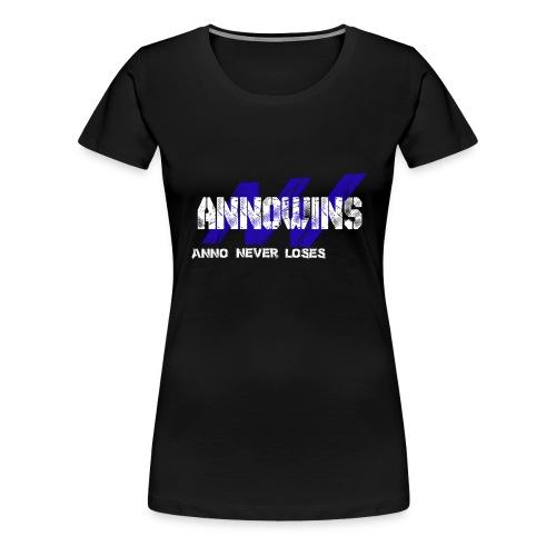 Annowins Wit Cup png - Women's Premium T-Shirt