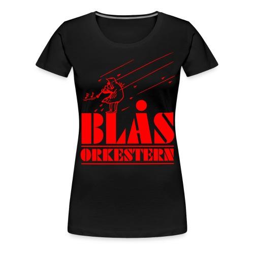 BlåsorkesternV - Premium-T-shirt dam