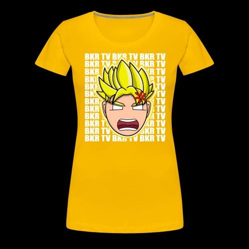 BKR TV SUPER SAIYAN - Women's Premium T-Shirt