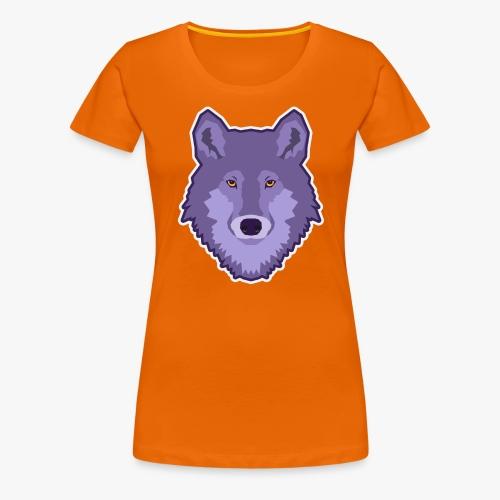 Spirit Wolf - Dame premium T-shirt