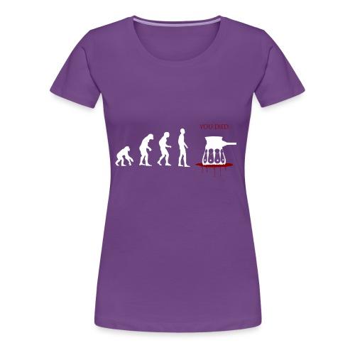 Evoluti...Ops - Maglietta Premium da donna