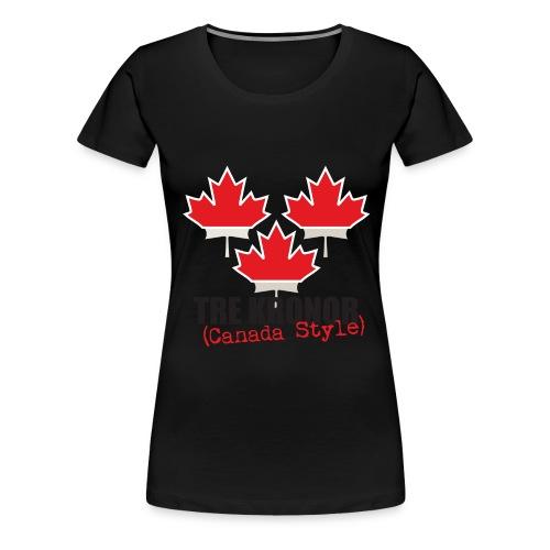 3kronorCanada1 - Women's Premium T-Shirt