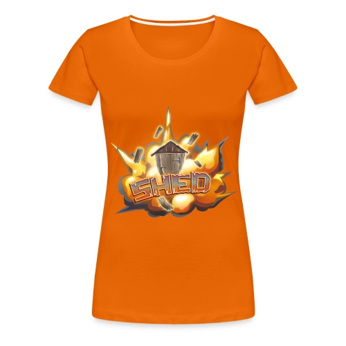 Team Shed - Women's Premium T-Shirt