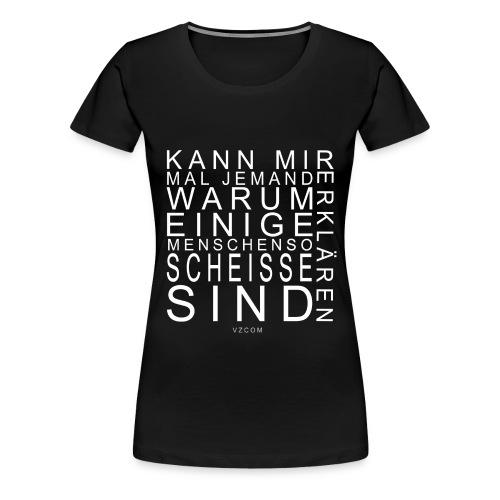 vzcom2 - Frauen Premium T-Shirt
