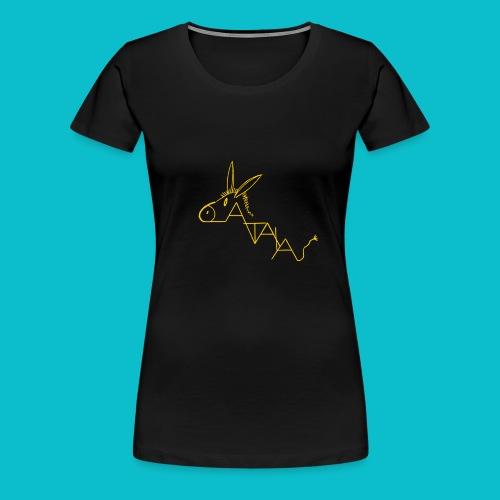 catala jaune - T-shirt Premium Femme