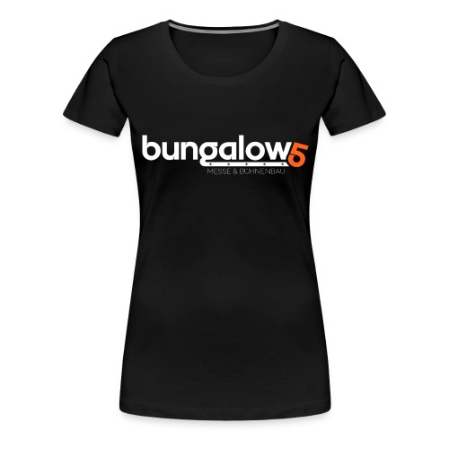 logo bungalow5 2016 over - Frauen Premium T-Shirt