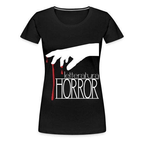 T-Shirt LetteraturaHorror.it donna - Maglietta Premium da donna