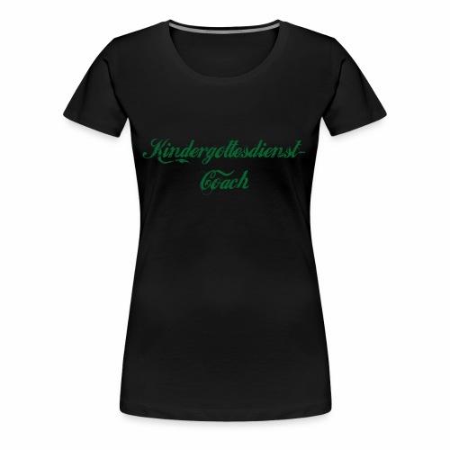 kindergottesdienst-coach - Frauen Premium T-Shirt