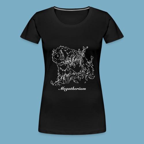 Faultier shirt woman - Frauen Premium T-Shirt